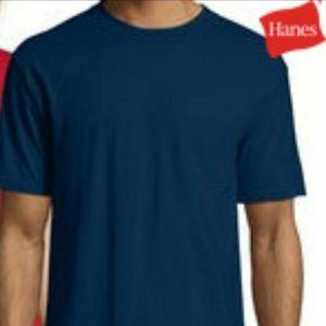 Hanes XL Navy T Shirt